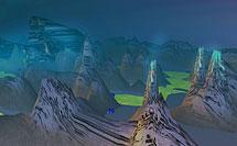 in Alien-Landschaften